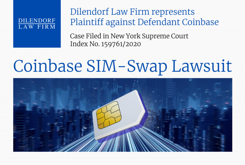 Coinbase SIM-swap Lawsuit