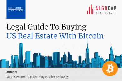 Legal Guide to Buying US Real Estate with Bitcoin