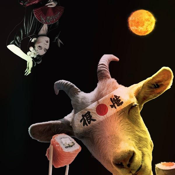 Colorful international Goats #7 · Kanji