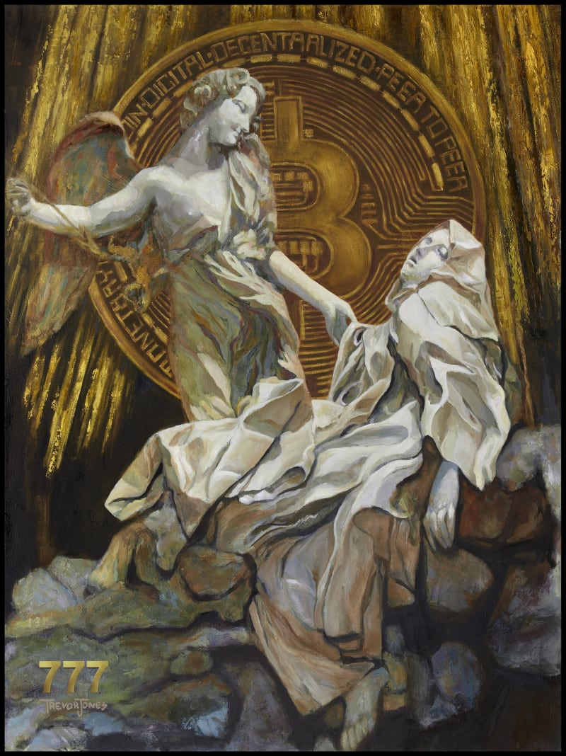 The Bitcoin Angel (Open Edition) #1702/4158